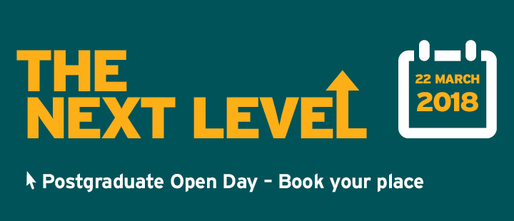 PG Open day book your place banner