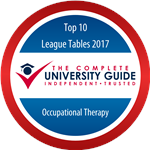 Occupational Therapy - Complete University Guide 2017