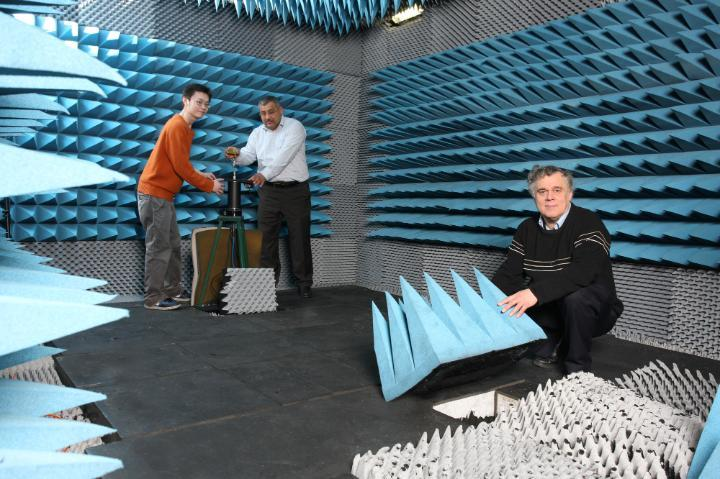 Mobile and Satellite Communications Research Centre Anechoic Chamber